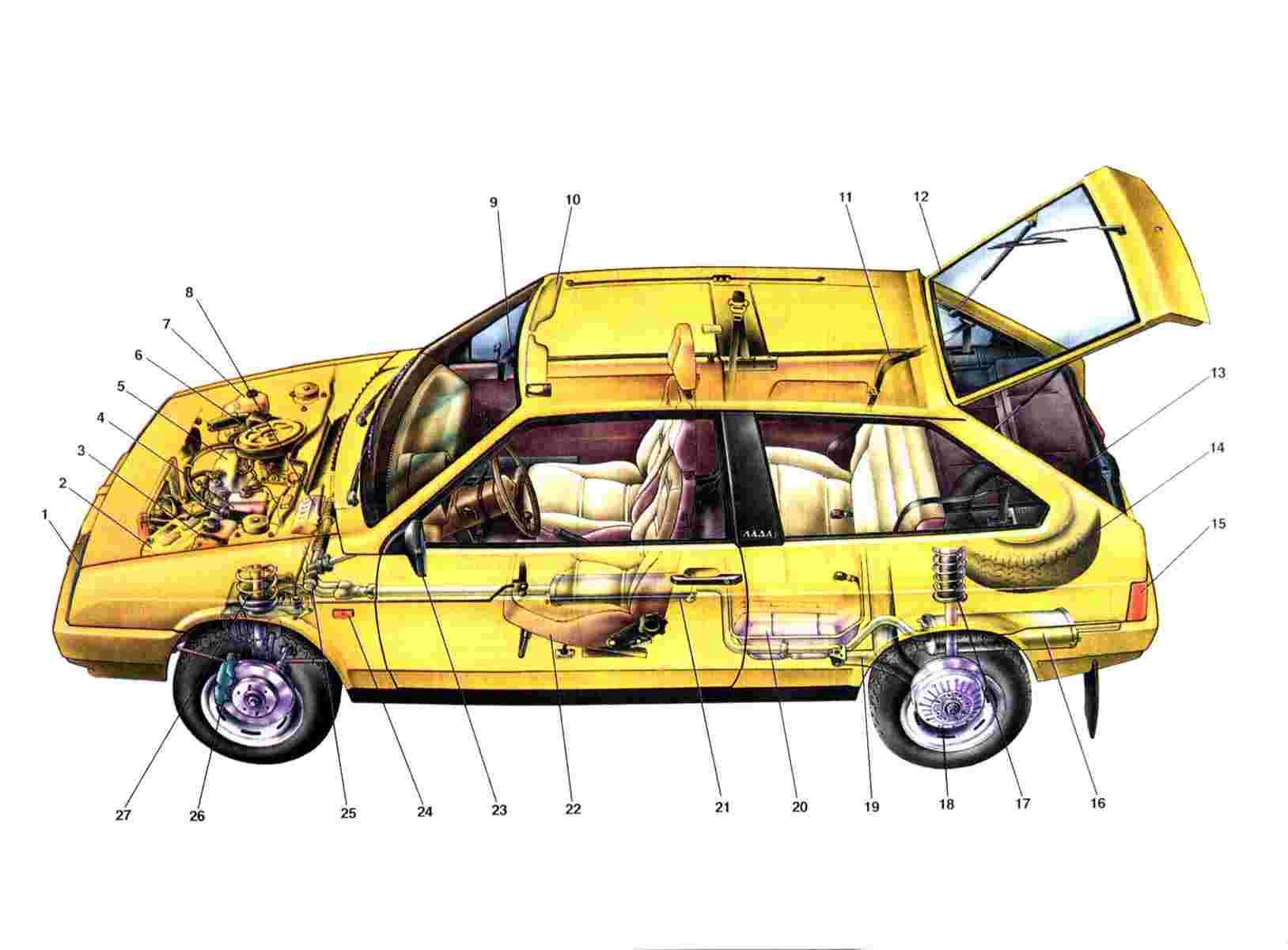 схема включения датчика топлива ваз 2108